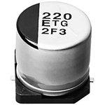 Фото 4/4 EEETG1J101UP, электролитический конденсатор SMD 100мкФ, 63В 10x10.2