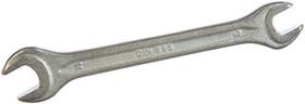 Ключ гаечный рожковый, кованый, оцинкованный 9x11мм 90603 тов-093045