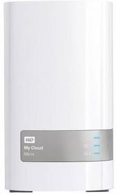Сетевое хранилище WD My Cloud Mirror WDBWVZ0060JWT-EESN, 6Тб