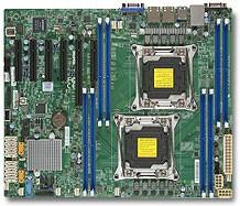 Серверная материнская плата SUPERMICRO MBD-X10DRL-i-B, bulk
