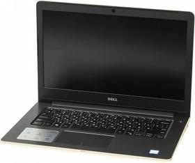 """Ноутбук DELL Vostro 5468, 14"""", Intel Core i3 6006U, 2.4ГГц, 4Гб, 500Гб, Intel HD Graphics 520, Windows 10, золотистый [5468-2884]"""