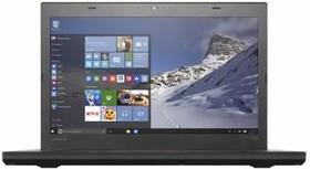 """Ноутбук LENOVO ThinkPad T460, 14"""", Intel Core i3 6100U, 2.3ГГц, 4Гб, 500Гб, Intel HD Graphics 520, Windows 10 Professional (20FNS0J700)"""