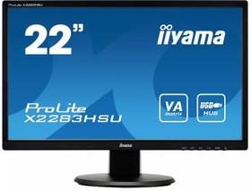 """Монитор ЖК IIYAMA X2283HSU-B1DP 21.5"""", черный"""