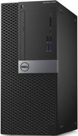 Компьютер DELL Optiplex 7040, Intel Core i5 6500, DDR4 8Гб, 500Гб, AMD Radeon R5 340X - 2048 Мб, DVD-RW, Windows 7 (7040-0040)