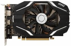 Видеокарта MSI nVidia GeForce GTX 1060 , GeForce GTX 1060 ARMOR 6G OCV1, 6Гб, GDDR5, OC, Ret