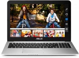 """Ноутбук ASUS K501UX-DM201T, 15.6"""", Intel Core i5 6200U, 2.3ГГц, 8Гб, 1000Гб, nVidia GeForce GTX 950M - 2048 Мб (90NB0A62-M03360)"""