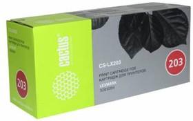 Картридж CACTUS CS-LX203 X203A21G, черный