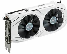 Видеокарта ASUS GeForce GTX 1060, DUAL-GTX1060-O6G, 6Гб, GDDR5, OC, Ret