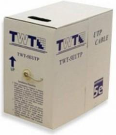 Кабель информ. Lanmaster UTP (TWT-5EUTP-OUT ) кат.5е 4X2X24AWG PVC внеш. 305м черн.