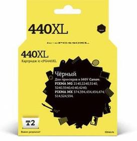 Картридж T2 IC-CPG440XL PG-440 XL, черный