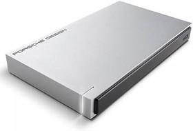 Внешний жесткий диск LACIE Porsche Design STET1000400, 1Тб, серебристый