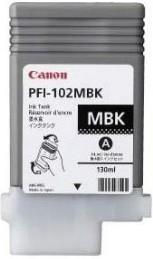 Картридж CANON PFI-102MBK 0894B001, черный матовый