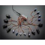 Фото 4/4 16-Channel 12-bit PWM/Servo Shield - I2C interface, (1411)