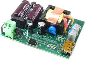 EVLSTCH03-36W-SR, EVAL BOARD, MAINS USB CHARGER