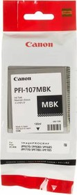 Картридж CANON PFI-107MBK 6704B001, черный матовый
