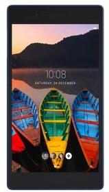 Планшет LENOVO Tab 3 Plus TB-7703X, 2GB, 16GB, 3G, 4G, Android 6.0 черный [za1k0070ru]