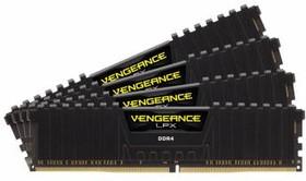 Модуль памяти CORSAIR Vengeance LPX CMK32GX4M4A2800C16 DDR4 - 4x 8Гб 2800, DIMM, Ret