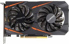 Видеокарта GIGABYTE Radeon RX 460 WINDFORCE OC 4G, GV-RX460WF2OC-4GD, 4Гб, GDDR5, OC, Ret