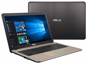 "Ноутбук ASUS X540SA-XX053D, 15.6"", Intel Pentium N3700, 1.6ГГц, 4Гб, 500Гб, Intel HD Graphics , Free DOS, черный [90nb0b31-m03840]"