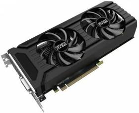 Видеокарта PALIT GeForce GTX 1060, PA-GTX1060 DUAL 3G, 3Гб, GDDR5, Ret [ne51060015f9-1061d]