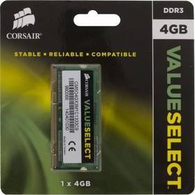 Модуль памяти CORSAIR CMSO4GX3M1C1333C9 DDR3L - 4Гб 1333, SO-DIMM, Ret