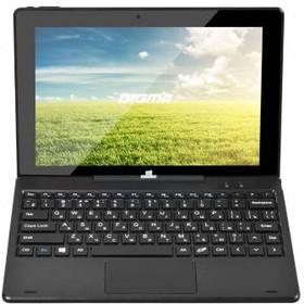 Планшет DIGMA EVE + Keyboard 1801 3G, 2GB, 32GB, 3G, Windows 10 графит [es1049eg]