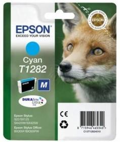 Картридж EPSON C13T12824010 голубой