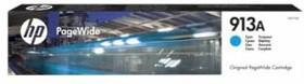 Картридж HP 913A F6T77AE, голубой