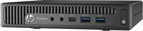Компьютер HP ProDesk 600 G2, Intel Pentium G4400T, DDR4 4Гб, 500Гб, Intel HD Graphics 510, Windows 7 Professional, черный [t4j50ea]