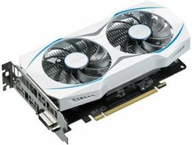 Видеокарта ASUS Radeon RX 460, DUAL-RX460-2G, 2Гб, GDDR5, OC, Ret