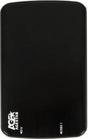 Внешний корпус для HDD/SSD AGESTAR 31UB2A12, черный