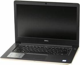 """Ноутбук DELL Vostro 5468, 14"""", Intel Core i5 7200U, 2.5ГГц, 4Гб, 500Гб, Intel HD Graphics 620, Windows 10, золотистый [5468-3300]"""