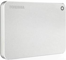 Внешний жесткий диск TOSHIBA Canvio Premium for Mac HDTW130ECMCA, 3Тб, серебристый
