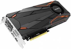 Видеокарта GIGABYTE GeForce GTX 1080 Turbo OC 8G, GV-N1080TTOC-8GD, 8Гб, GDDR5X, OC, Ret