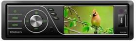 Автомагнитола ROLSEN RCR-550B, USB, SD/MMC
