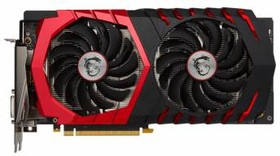 Видеокарта MSI GeForce GTX 1060, GTX 1060 GAMING X 3G, 3Гб, GDDR5, OC, Ret
