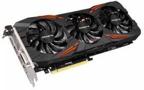 Видеокарта GIGABYTE GeForce GTX 1080, GV-N1080G1 GAMING-8GD, 8Гб, GDDR5X, OC, Ret