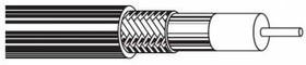Кабель коакс. Belden (9100 009U1000) RG-59 SF/UTP 20AWG 75Om PVC универс. 305м бел.