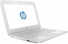 """Ноутбук HP Stream 11-y007ur, 11.6"""", Intel Celeron N3050, 1.6ГГц, 2Гб, 32Гб SSD, Intel HD Graphics , Windows 10, белый [y7x26ea]"""