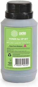 Тонер CACTUS CS-THP7M-45, для HP CLJ 1215/1615, пурпурный, 45грамм, флакон