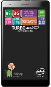 Планшет TURBO TurboPad 802i, 1GB, 8GB, 3G, Android 5.1 черный [рт00020442]