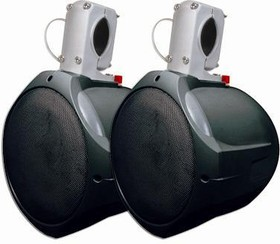 "60-10021, 6 1/2"" Marine Wakeboard Two-Way Speaker Pair - Black"