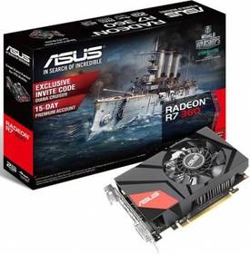 Видеокарта ASUS Radeon R7 360, MINI-R7360-2G, 2Гб, GDDR5, Ret