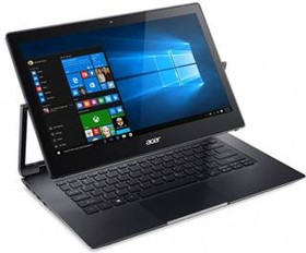 "Ноутбук-трансформер ACER Aspire R7-372T-520Q, 13.3"", Intel Core i5 6200U, 2.2ГГц, 8Гб, 256Гб SSD, Intel HD Graphics 520 (NX.G8SER.003)"