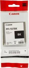 Картридж CANON PFI-107BK 6705B001, черный