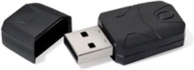 Сетевой адаптер WiFi UPVEL UA-222NU USB 2.0