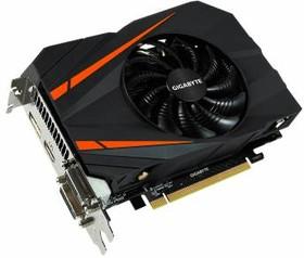 Видеокарта GIGABYTE GeForce GTX 1060 Mini ITX OC 3G, GV-N1060IXOC-3GD, 3Гб, GDDR5, OC, Ret