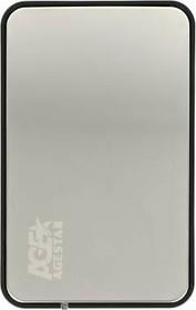 Внешний корпус для HDD/SSD AGESTAR 31UB2A8C, серебристый