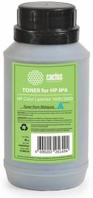 Тонер CACTUS CS-THP6C-90, для HP CLJ 1600/2600, голубой, 90грамм, флакон
