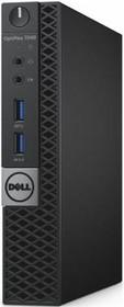 Компьютер DELL Optiplex 7040, Intel Core i7 6700T, DDR4 8Гб, 500Гб, Intel HD Graphics 530, Windows 7 Professional (7040-0132)